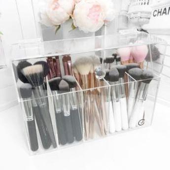 Makeup Organizer Justice till Makeup Bag Clear