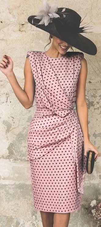 $40.99 USD Elegant Wave Point Slim Plus Size Evening Dress