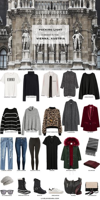 What to Pack for Vienna, Austria