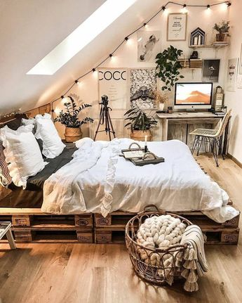 Idées de style bohème pour la décoration de la chambre