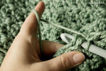 Tutorial Einfachen Infinity Schal Häkeln