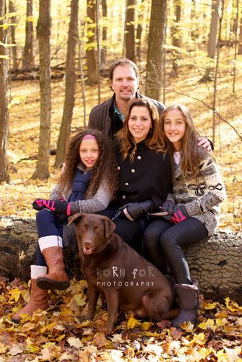 Born For Photography: Family Photography in the woods.