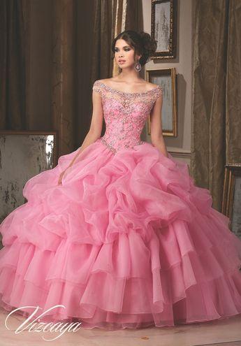 a439c1cd000 Beaded Off Shoulder Quinceanera Dress by Mori Lee Vizcaya 89110