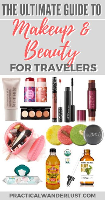 The Ultimate Backpacker's Guide to Beauty & Makeup for Travel