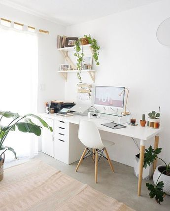 s 8230;+#Chic #decoration_office_ideas #Design #Desk #Home #Ideas #Office #Small #workplace