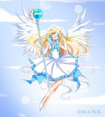 Sailor Nebula, sister of Sailor Nova