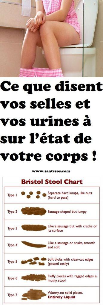 Ce que disent vos selles et vos urines à sur l'état de votre corps !