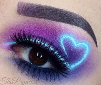 15 Neon Eye Art Ideas To Brighten Up Spring 2019