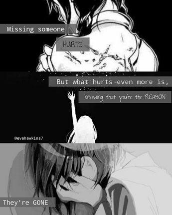 edit by i g evahawkins7 anime sad quotes sad anime girl