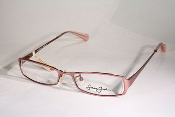 284dcf4e604e New SEAN JOHN Women s Slim Pink Semi-Rimless Eyeglass Frames Glasses  Eyeglasses