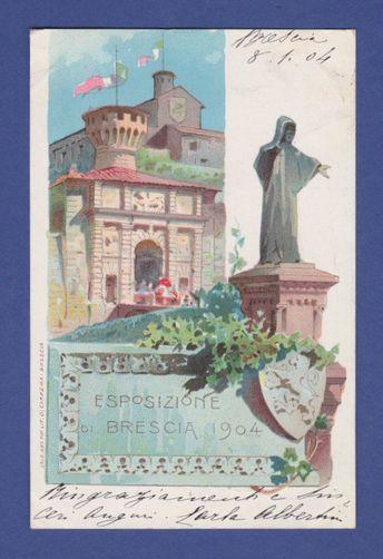 ESPOSIZIONE DI  BRESCIA 1904 - FP-VV 1904 [PD.2-09]    eBay