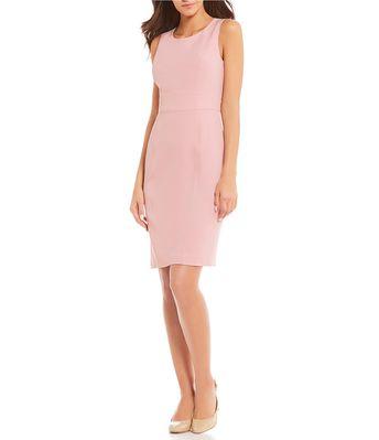 cb8d0c5e26 Shop for Emma Street Ruffle-Front Chiffon Shift Dress at D