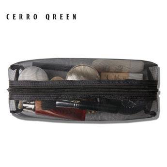 11c7b14b4fa CERROQREEN Black Mesh Makeup Bag travel cases Organizer (Black)     To view