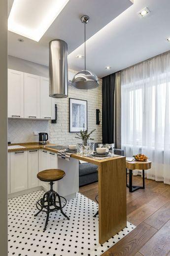 Малогабаритный проект: квартира-студия в стиле лофт