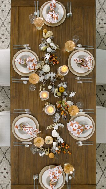 How to Set a Table for Thanksgiving in 5 Easy Steps - Overstock.com