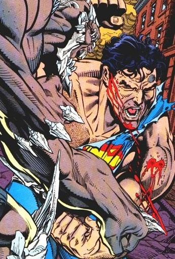 Superman vs doomsday (Batalla a muerte) Dc