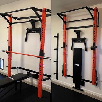 Squat rack UP, or squat rack DOWN. It's your gym, you choose!
