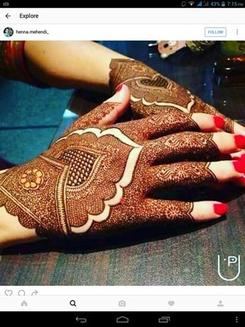 Credits Henna Creations By Iqra On Facebook
