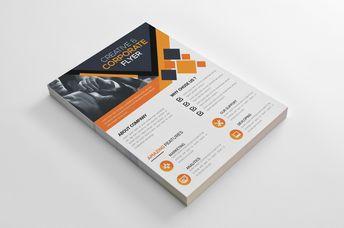 Napa Creative Business Flyer Design Template - Graphic Templates