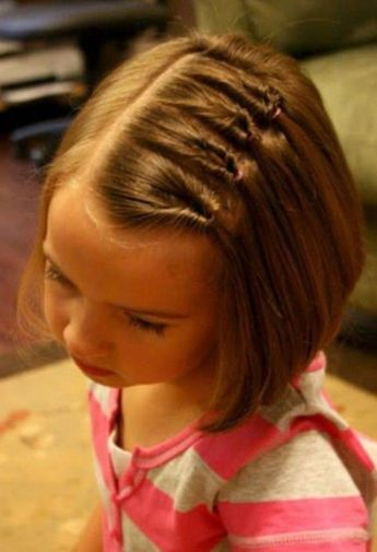 2017 New Kids Hairstyles for Short Hair