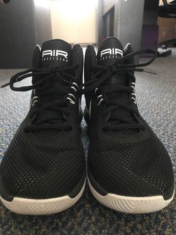 check out e6ea1 6e621 Nike Air Precision Size 10 Basketball Shoes - Black White-Cool-Grey