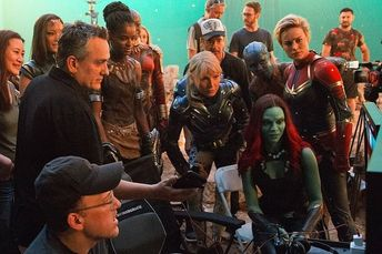 #NEW behind the scenes of 'Avengers: Endgame' posted by the Russo  Brothers.MY CAST.  #brielarson.aboutbrielarson is sharing instagram  posts and you can see pictures video posts and on this media post page.