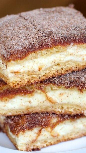 Churro Cheesecake Bars Recipe                                                                                                                                                                                 More