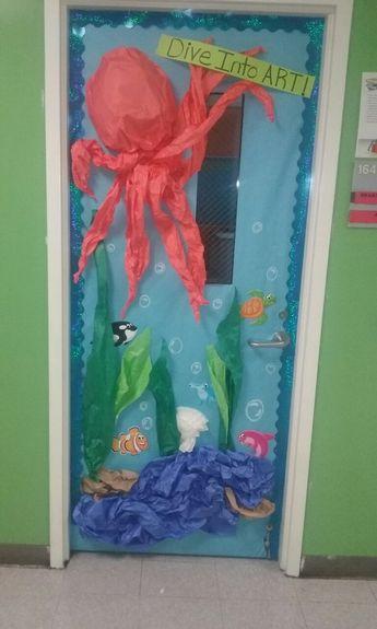 Under the sea classroom door by Sharyn Jackson