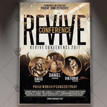 Revive Conference Church - Premium Flyer PSD Template