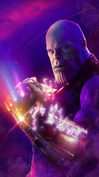 Animated Video GIF Avengers Infinity War Endgame Thanos