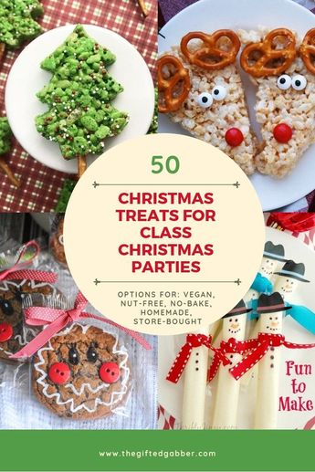 50 Fun Christmas Desserts for a Class Christmas Party - The Gifted Gabber