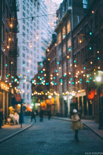 Stone St, Manhattan, New York City by @juliayusupov