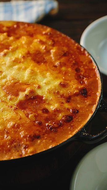 Mac N Cheese Bolognese