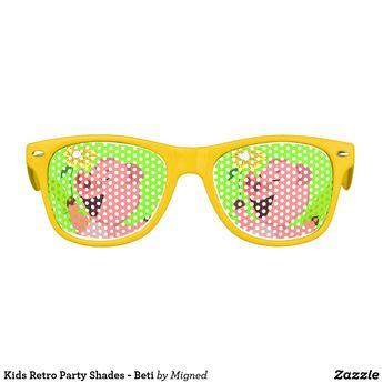 bab097cfe6615 Kids Retro Party Shades - Dini