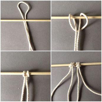 DIY – Mein Macramee Wandhänger – Erste Schritte