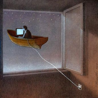 Les nouvelles illustrations satiriques de Pawel Kuczynski