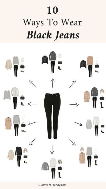 Black jeans...yes please!