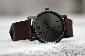 Custom order for Samuel Campbell - Mens watch | Womens watch | Minimalist watch | Leather watch | Black watch |