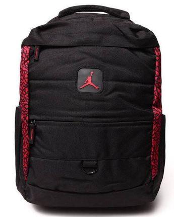 b72fb937b0ef Nike Air Jordan Backpack Bag Laptop Tablet Black Red Men Women Elevation  Boys  Nike