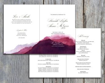 tropical themed wedding program beach themed wedding pro