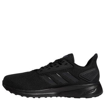 901c372adfd48 Adidas Men s Duramo 9 Wide Running Shoes (Black Black Black)
