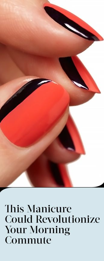 This Manicure Could Revolutionize Your Morning Commute