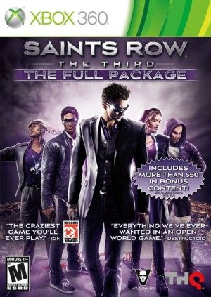Saints Row The Third: The Full PackageXbox 360 Game