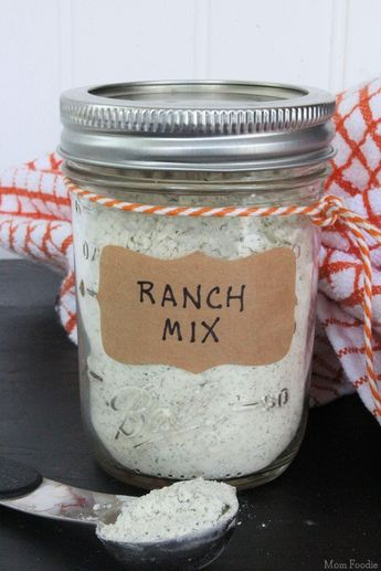 I'm pinning this to TRY later. Im not sure how it will taste.  Homemade Ranch Seasoning Mix