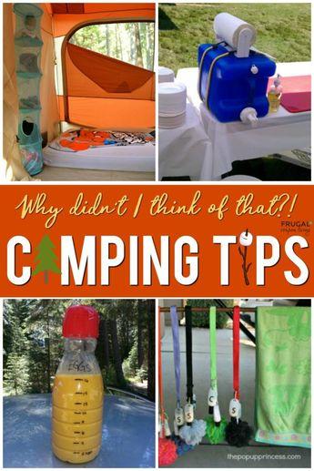 Camping Hacks and Tips