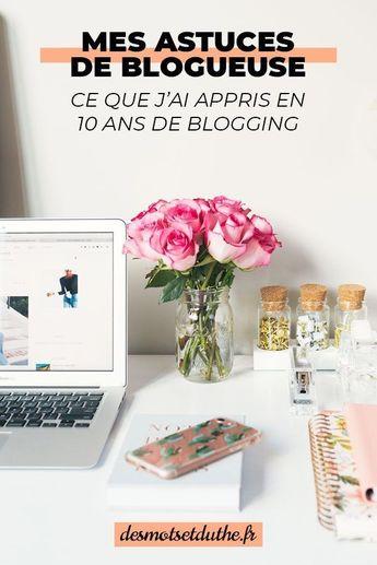 Mes conseils blogging après dix ans d'expérience