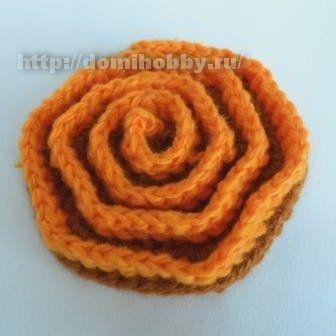 Crochet Flower 3D - Photo Tutorial ❥ 4U // hf