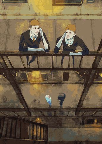 Fred and George gif