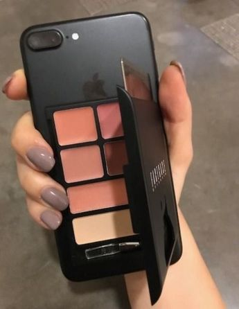 Makeup on the go in your mobile cover .... #Beauty #Makeup #phonecase #Style Makeup, Style & Beauty – #Beauty #Makeup #phonecase #