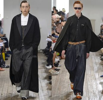 b77d35c47a8 FACETASM by Hiromichi Ochiai 2018 Spring Summer Mens Runway Catwalk Looks -  Mode à Paris Fashion